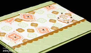 Mosaic Madness and Petite Pairs Card by European Stampin' Up! Demonstrator Bekka Prideaux - check her blog for lots of great ideas with this stamp set