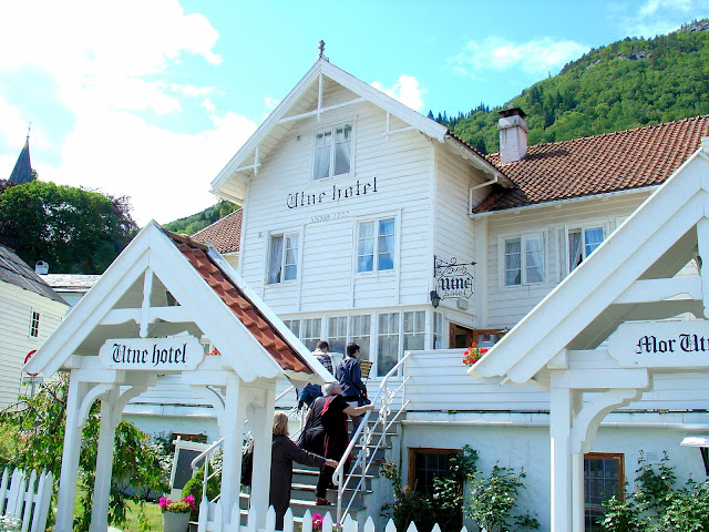 The Utne Hotel as it appears today. Photo: EuroTravelogue™.