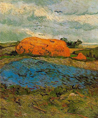 Paller en un dia de pluja (Vincent Van Gogh)