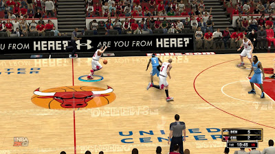 Download NBA 2K13 Chicago Bulls Court Patch
