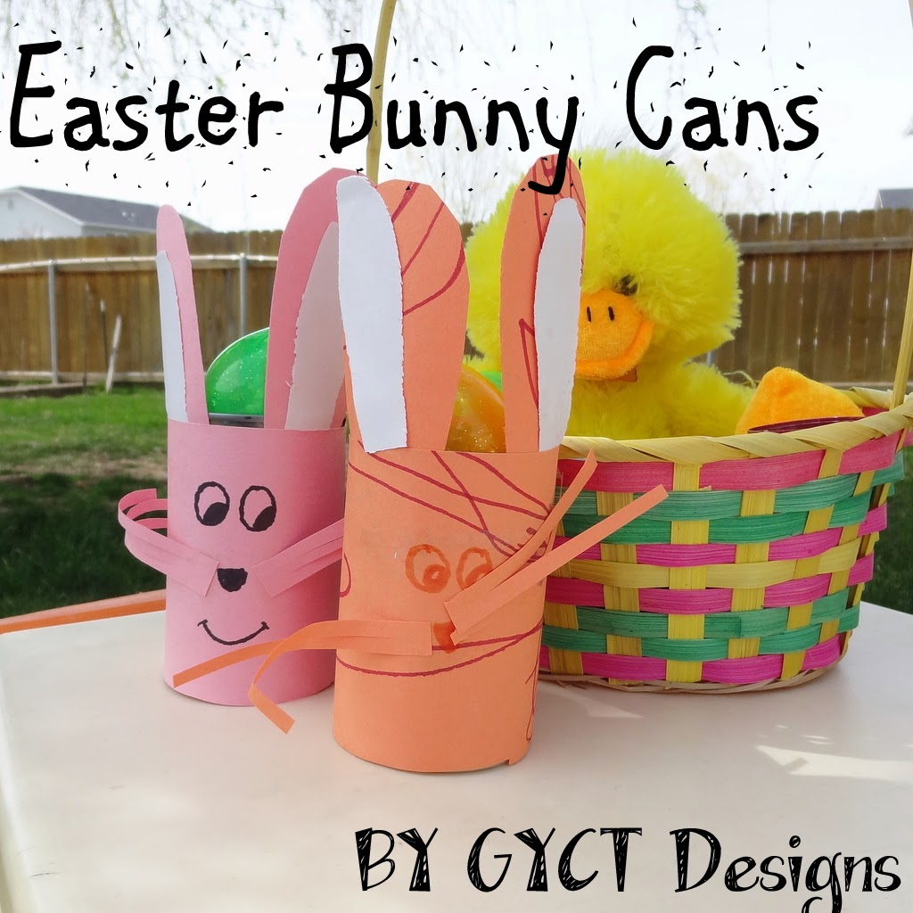 Easter Bunny Cans Craft by GYCT