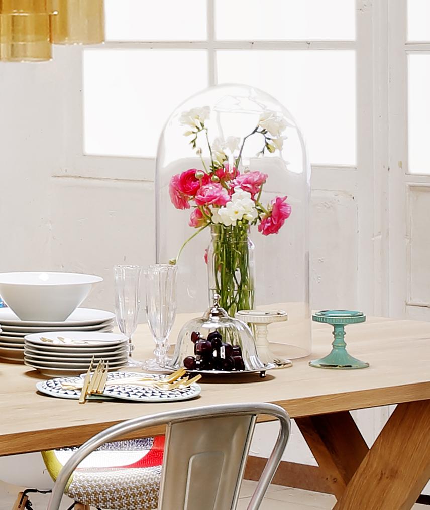 Tendencias decoraci n con campanas de cristal floritismo - La oca decoracion ...