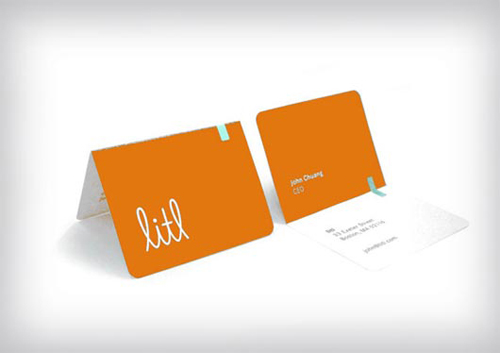 Awesome and Attractive Folding Business Cards