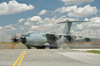The second production Airbus A400M completes engine milestone