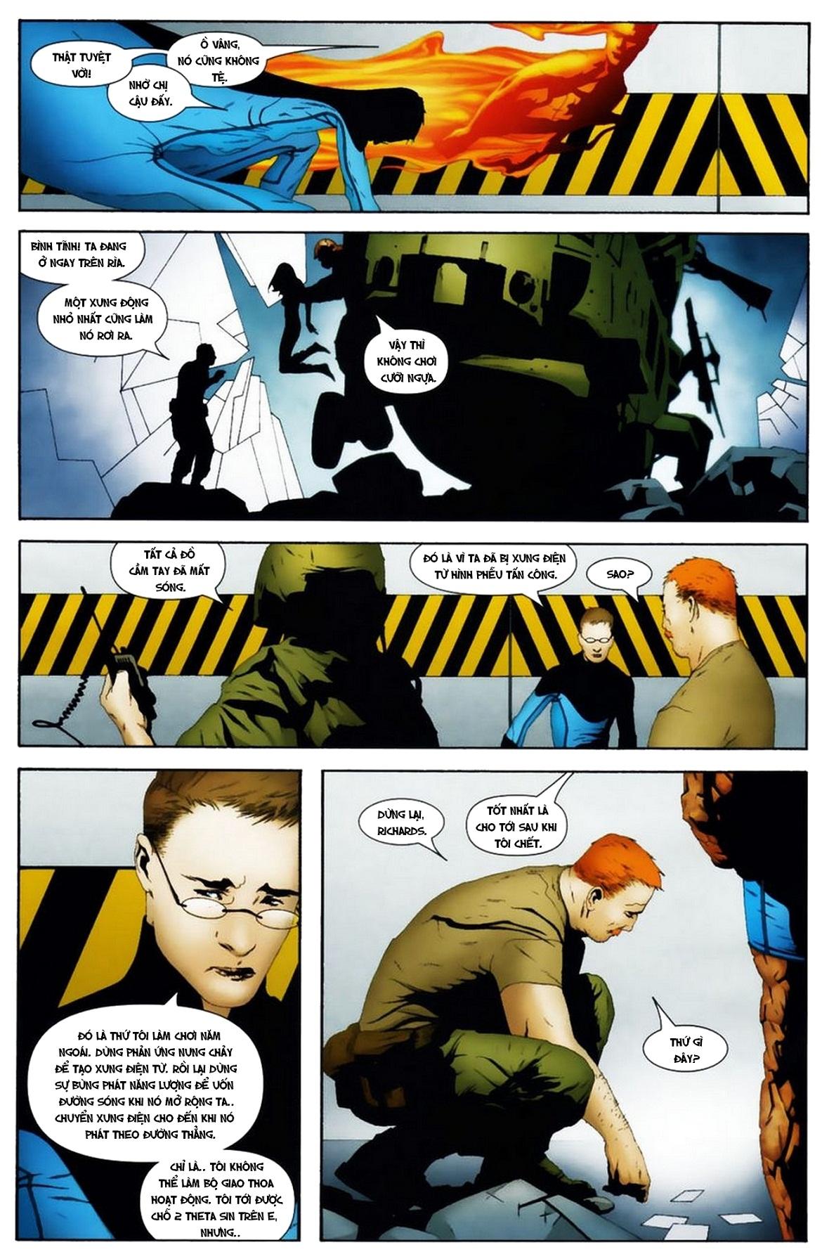 Ultimate Fantastic Four chap 19 - Trang 10