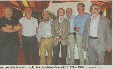 I Primi Obiettori si incontrano 40 anni dopo