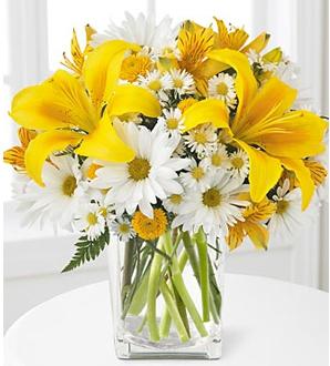 florero-flores-amarillas-y-blancas-feng-shui-siria-grandet