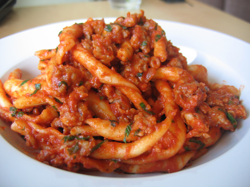 Morsels and Musings: ragù di salsiccia (sausage ragù)