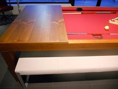 Un tavolo da pranzo anzi da biliardo - Tavolo da biliardo trasformabile in tavolo da pranzo prezzi ...