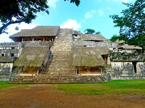 Maya-Tempel in Mexiko