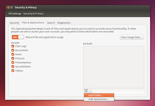 Ubuntu 13.10 privacy