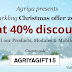 Agriya's lavish Christmas gift - a 40% off on all products, modules & mobile apps