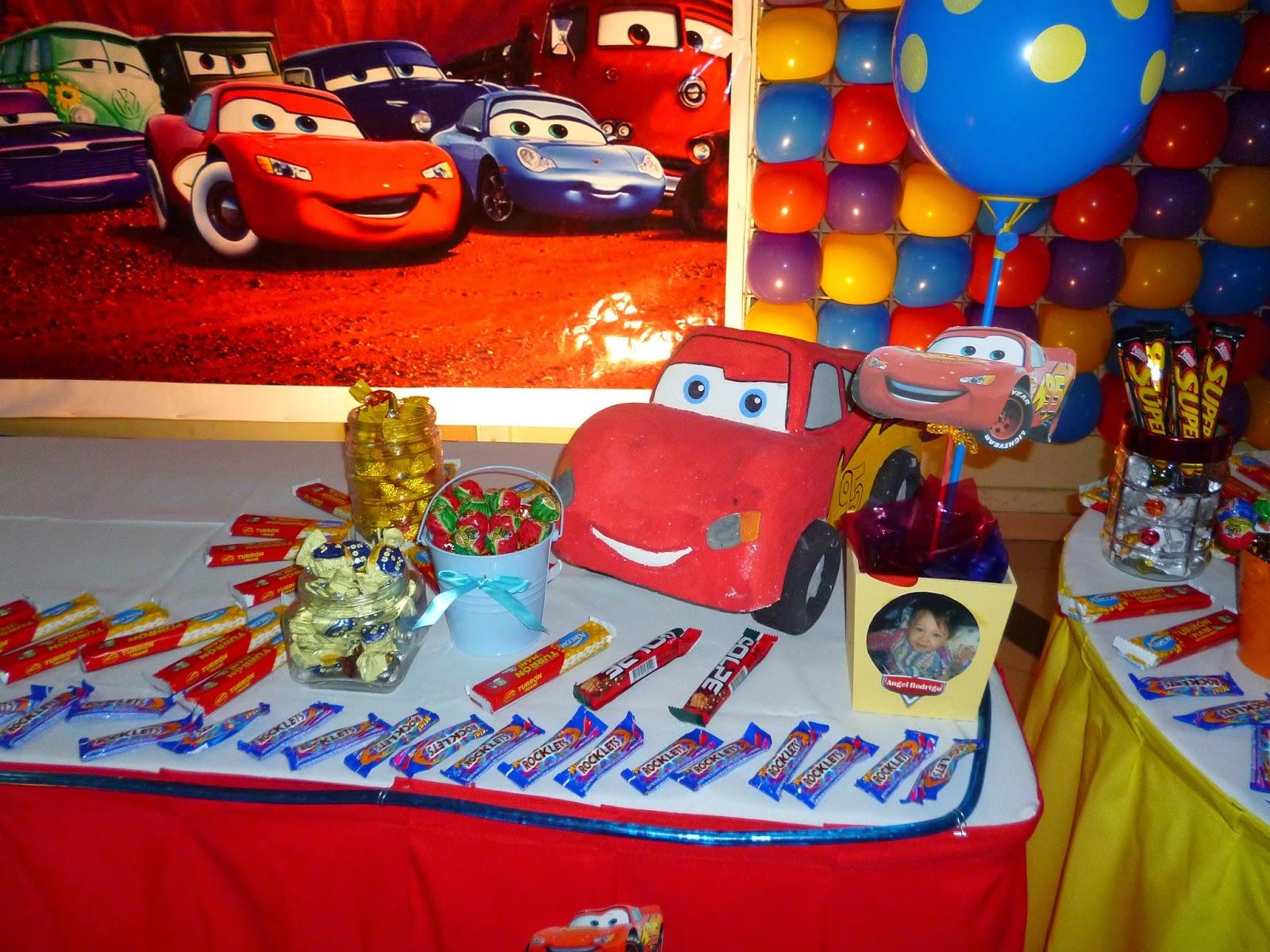 y ahora ahora echa un vistazo a algunas fotos de decoracin fiesta de cars realizado por ensueos