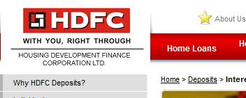 hdfc fd rates