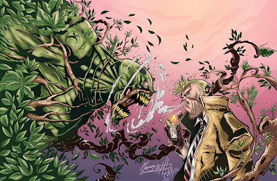 Swamp Thing x Constantine Pencil: Eder Messiah Ink + Color: John Castelhano