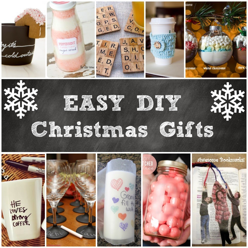 easy diy christmas gift ideas handy diy