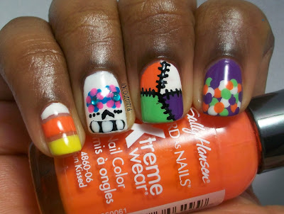 halloween-mix-n-match-nails