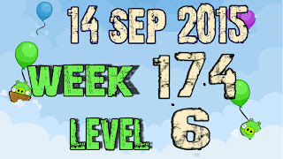 Angry Birds Friends Tournament level 6 Week 174