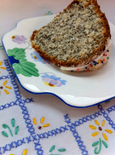 Poppy Seed Bundt Cake