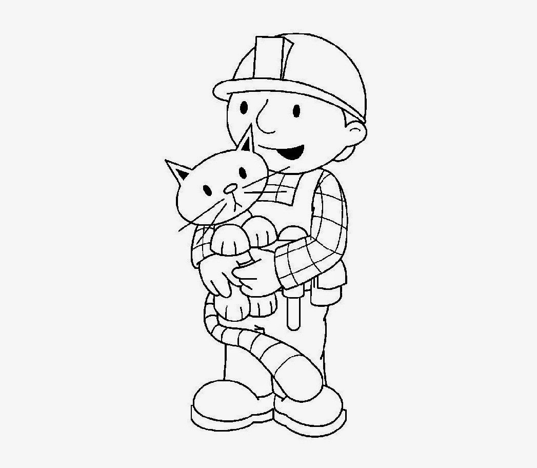 Bob the Builder Coloring Drawing Free wallpaper