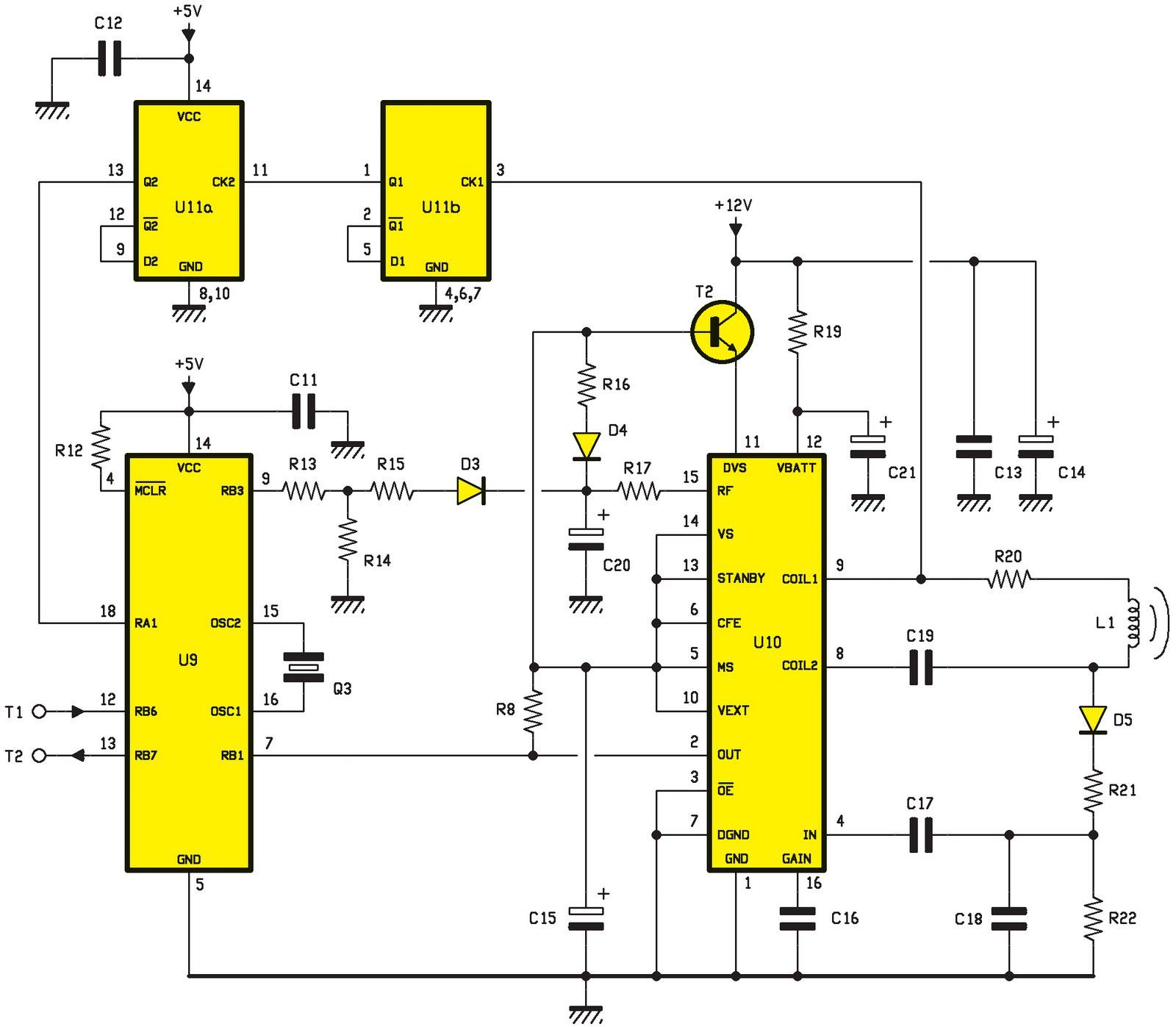 Une pointeuse pour pc avec liaison radio ou filaire for Les portes logiques de base