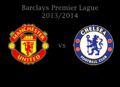 Manchester United vs Chelsea Premier league 2013