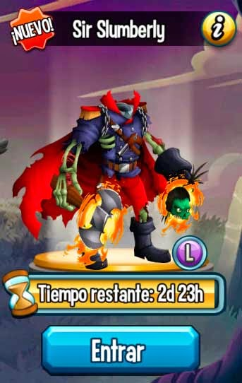 imagen de la quinta mision de la isla halloween de monster legends