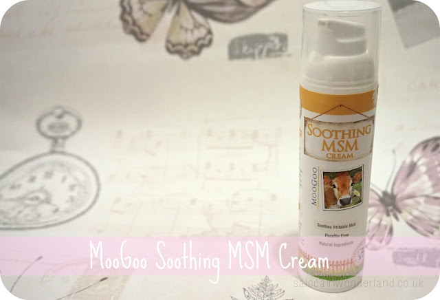 moogoo soothing msm cream review