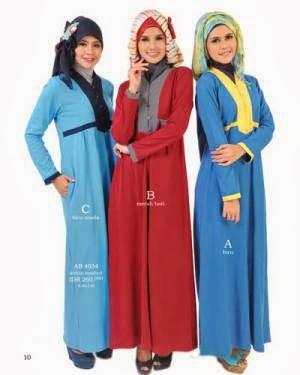 Gambar bentuk model busana muslimah