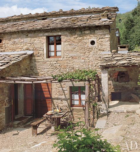 Madison muse villas in tuscany for Italian villa architecture