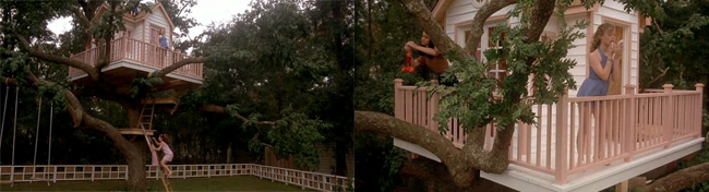 Now and Then film tree house
