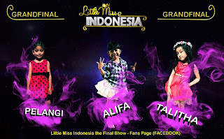 Pemenang Little Miss Indonesia 2013