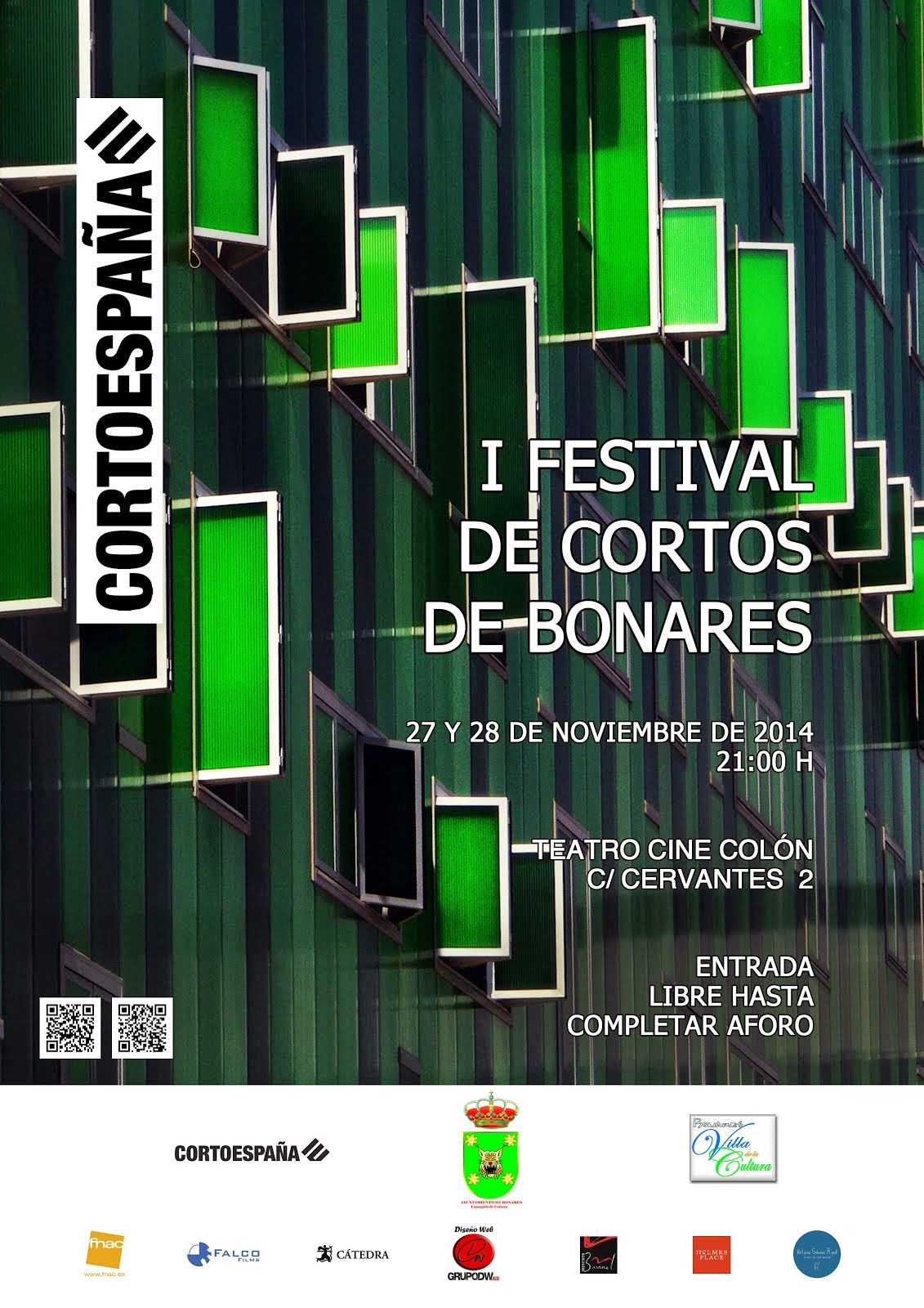 I FESTIVAL DE CORTOS DE BONARES