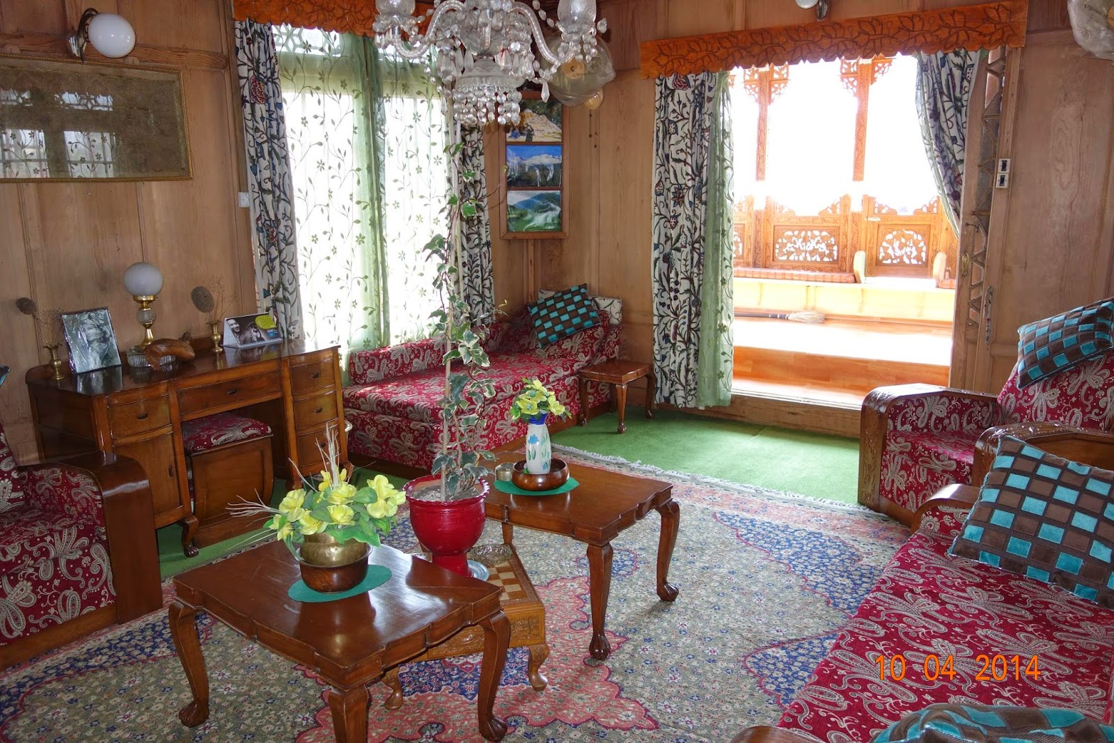 Another view of the lounge