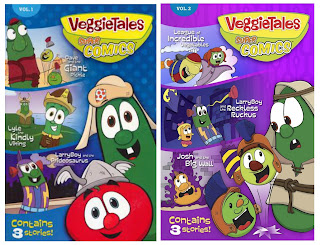 Wee Read Wednesday: VeggieTales Super Comics