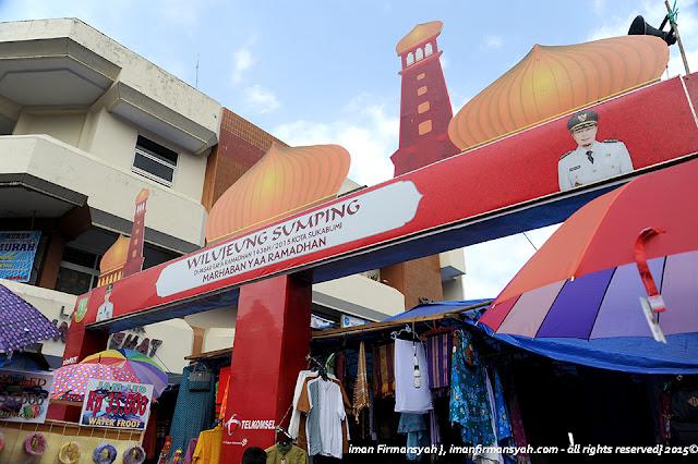 Pasar Ramadhan Sukabumi Jawa barat