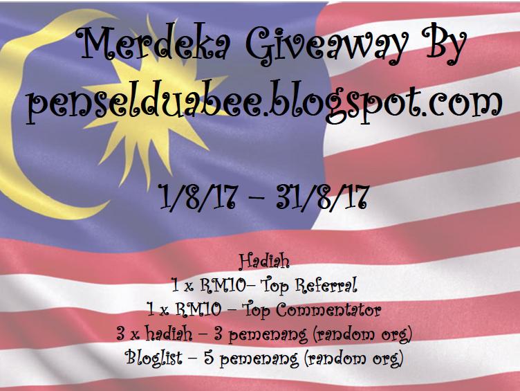 Merdeka Giveaway By penselduabee.blogspot.com