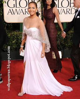 Jennifer Lopez attends the 68th Annual Golden Globe Awards in Beverly Hills, CA on January 16, 2011