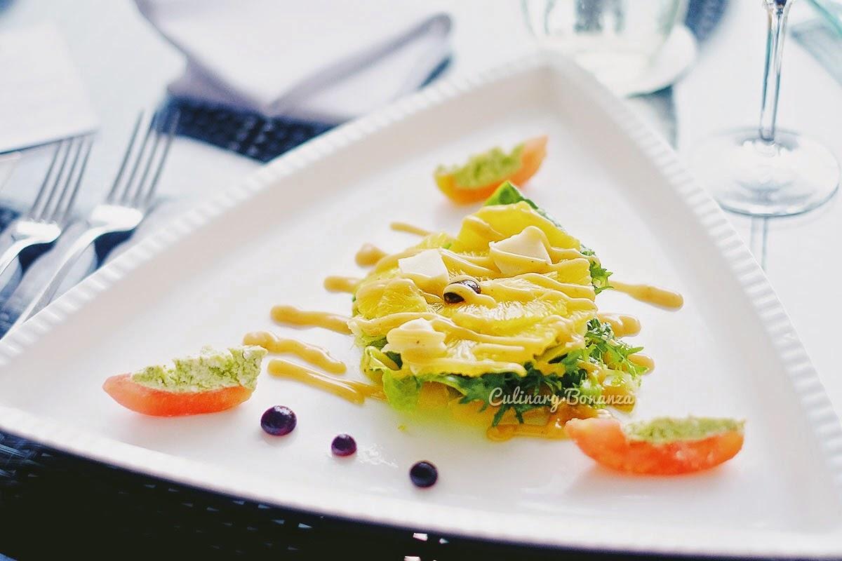 Fresh Orange Green Salad (www.culinarybonanza.com)