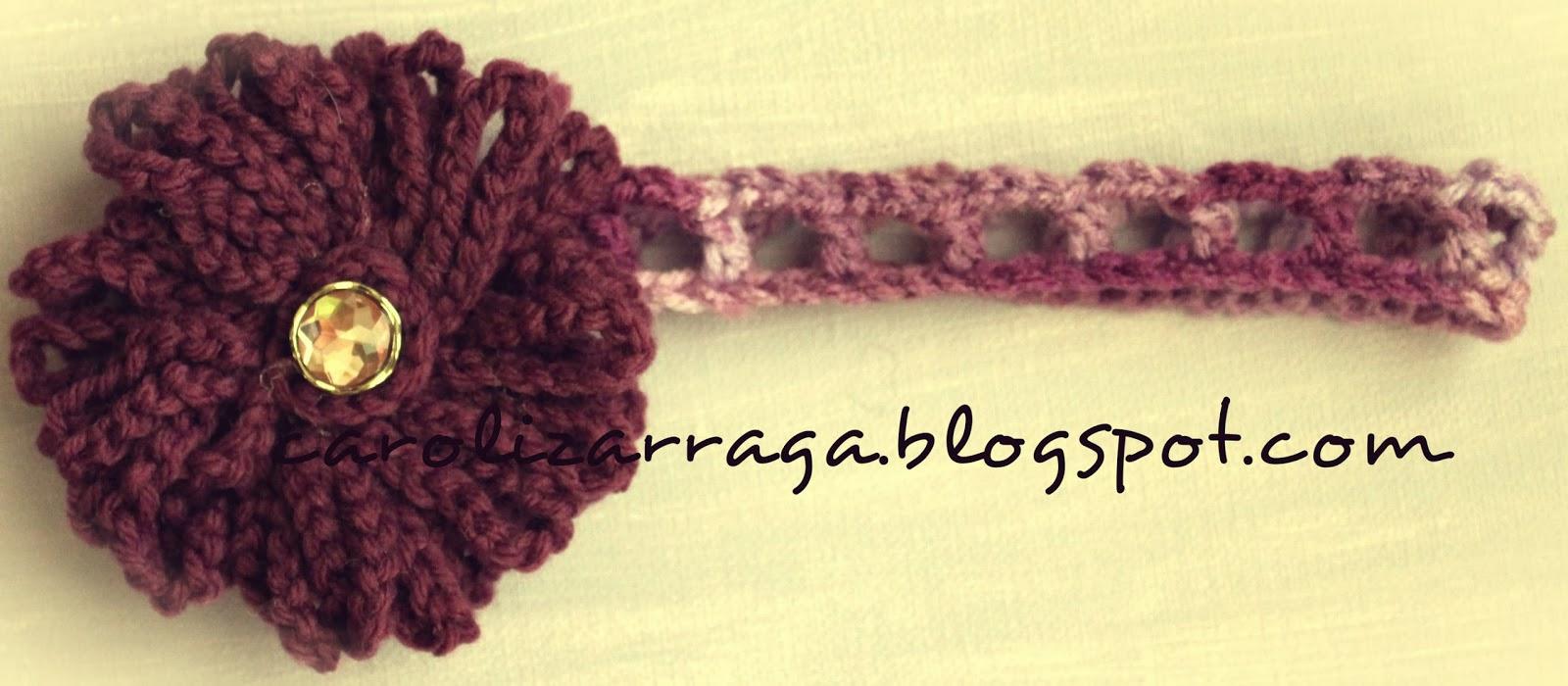 Patrones e ideas en Crochet..!!: Medidas para diademas en crochet