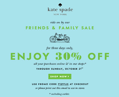 Kate Spade Friends & Family