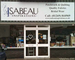 Isabeau Inspirations Quilt Shop, Crosshands, Llanelli