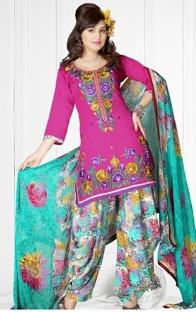 Latest Punjabi Patiala Dresses