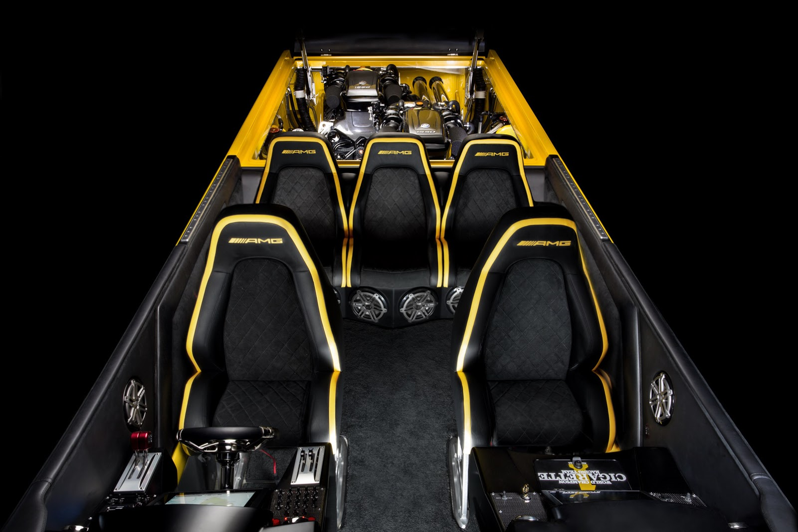 First Car Under 1000 >> Now, That's a Phallic Hood: Mercedes-AMG's Cigarette Racing 50 Marauder GT S Concept