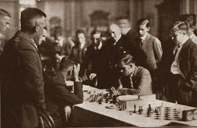 Partida de ajedrez Kurt Richter-Àngel Ribera, 3ª ronda de la III Olimpiada de Ajedrez de 1930