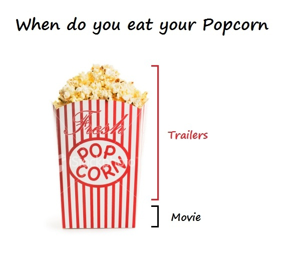 When Do You Eat Your Popcorn - Trailers - Movie