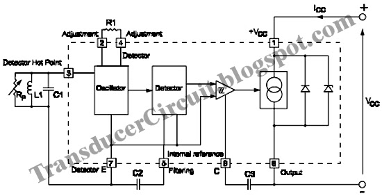proximity detectors block diagram using tda161