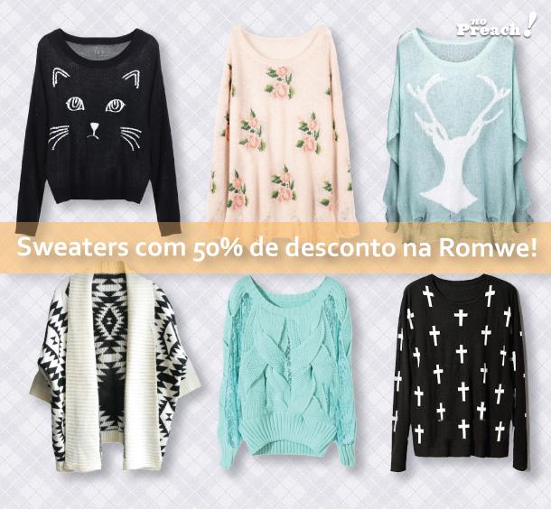 tendencia Cardigans e sweaters estampados
