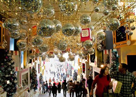 Ideias De Decora 231 227 O Natalina Para Shopping Centers