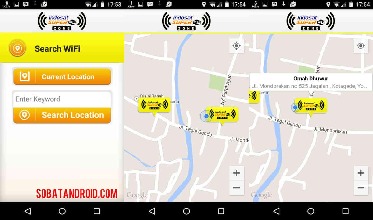Lokasi Indosat Super WiFi di Seluruh Indonesia